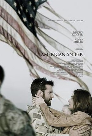 American Sniper - Theatrical release poster