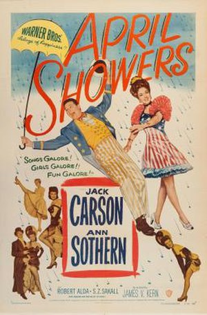 April Showers (1948 film) - Theatrical release poster