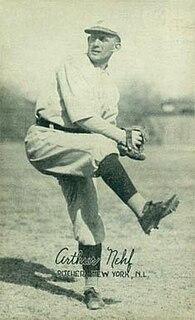 Art Nehf American baseball player