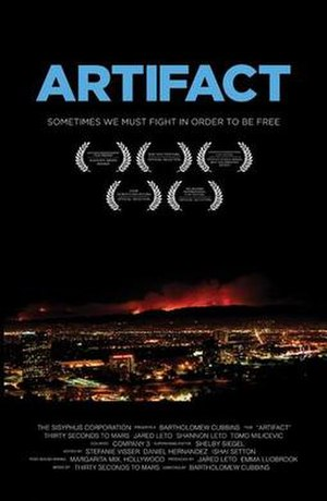 Artifact (film) - Theatrical release poster