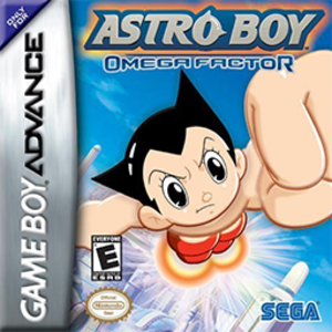 Astro Boy: Omega Factor - Image: Astro Boy Omega Factor Coverart