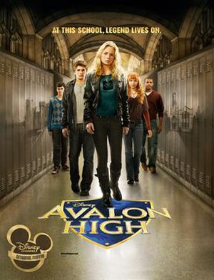 Avalon High (film) - Promotional poster