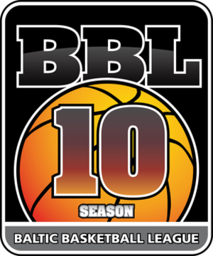2013–14 Baltic Basketball League - Image: Baltic Basketball League 10th anniversary season logo