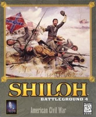 Battleground 4: Shiloh - Cover art