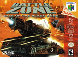 Battlezone (1998 video game) - Nintendo 64 version cover art