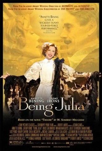 Being Julia - Original poster