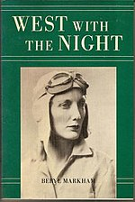 Cover, depicting the author in pilot's clothing