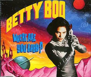Where Are You Baby? - Image: Betty Boo Where Are You Baby (CD)