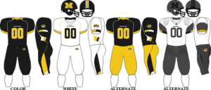 2009 Missouri Tigers football team - Image: Big 12 Uniform Mizzou 2009