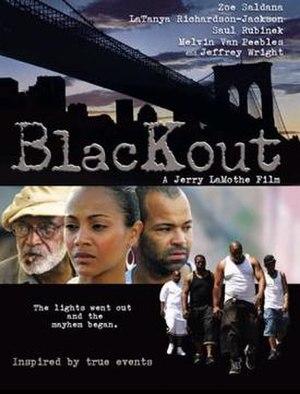 Blackout (2007 film) - Image: Blackout Film Poster