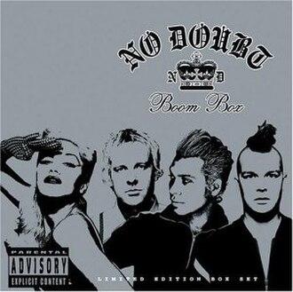 Boom Box (No Doubt album) - Image: Boom Box No Doubtcover