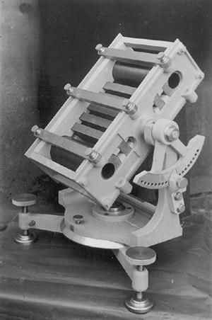 Bruno Rossi - Rossi's Cosmic ray telescope