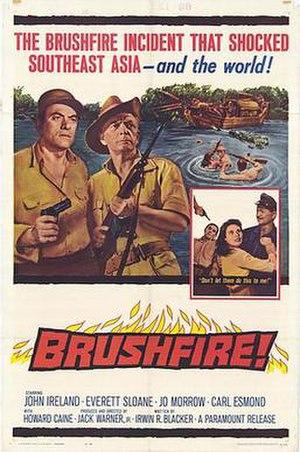Brushfire (film) - Original film poster