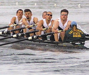 Sacramento State Men's Rowing Team - Image: CSUS Rowing