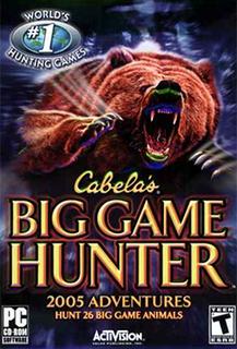<i>Cabelas Big Game Hunter 2005 Adventures</i>
