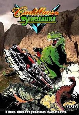 Cadillacs and Dinosaurs (TV series) - Cadillacs and Dinosaurs bootleg DVD cover