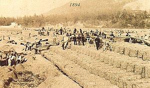 Maccaferri gabion - Sack gabions in Casalecchio di Reno