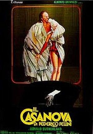 Fellini's Casanova - Italian theatrical release poster