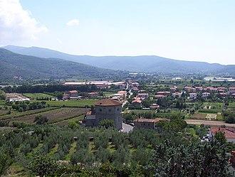 Castiglion Fiorentino - The valley below Castiglion Fiorentino