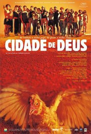 City of God (2002 film) - Original poster