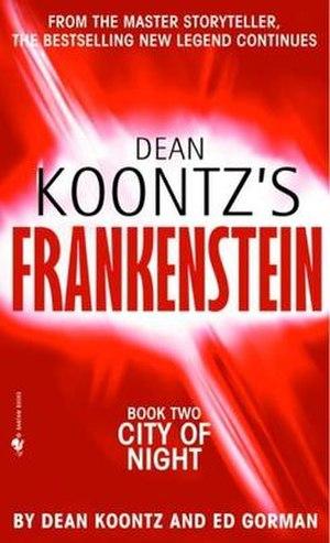 City of Night (Koontz and Gorman novel) - Cover of City of Night