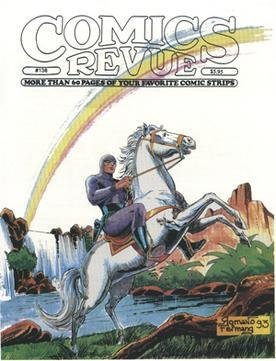 Comics Revue (issue 138 - front cover)