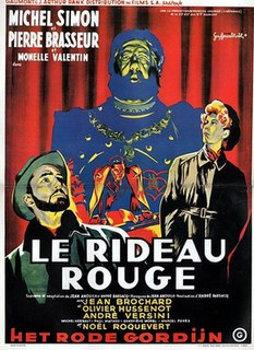 <i>Crimson Curtain</i> (1952 film) 1952 French film directed by André Barsacq