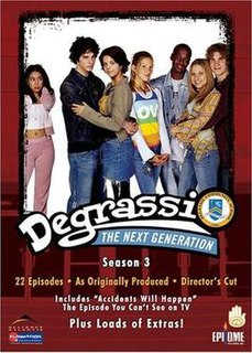 <i>Degrassi: The Next Generation</i> (season 3) season of television series