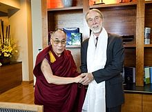 McLennan and His Holiness the Dalai Lama