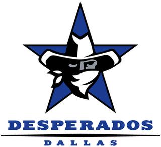 Dallas Desperados Arena football team