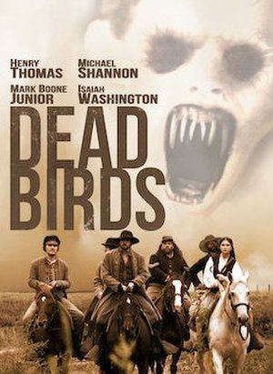 Dead Birds (2004 film) - DVD cover for Dead Birds