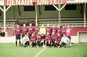 Denaby United F.C. - One of the last shots of Denaby United, during 1999–00.