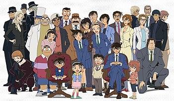Detective Conan Characters Name