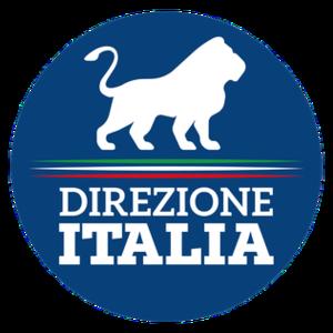 Direction Italy - Image: Direzione Italia logo