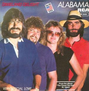 Dixieland Delight - Image: Dixieland Delight Alabama cover