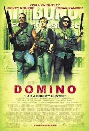 Domino (2005 film) - Theatrical release poster