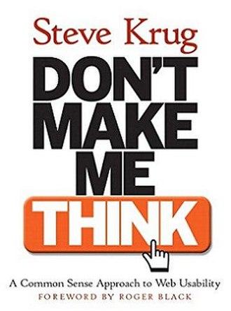 Don't Make Me Think - Image: Don't Make Me Think