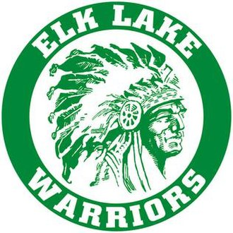 Elk Lake School District - Image: E Lwarriors W