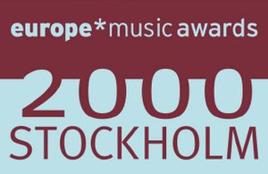 2000 MTV Europe Music Awards - Image: EMA2000LOGO