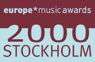 2000 MTV Europe Music Awards - Image: EMA2000LOGO
