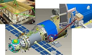 Expedition 25 - EXPOSE-R payload.