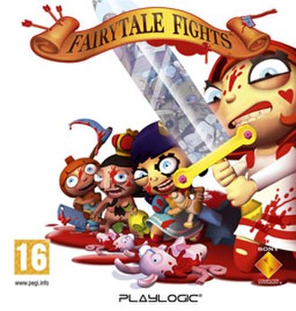 Fairytale Fights - PlayStation 3 cover of Fairytale Fights
