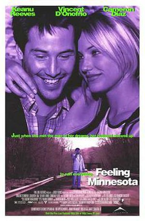 Feeling Minnesota - Theatrical release poster