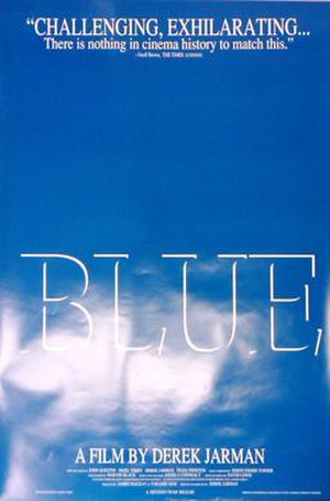 Blue (1993 film) - Theatrical release poster