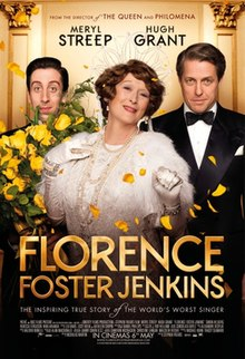 Image result for florence foster jenkins movie poster