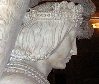 Francis II, Duke of Brittany - Sculpture of Francis II on his Tomb in Nantes.