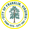 Official seal of Franklin, Virginia