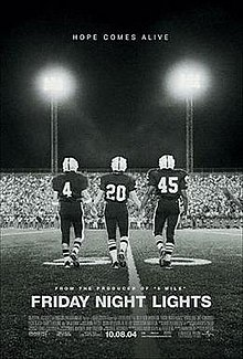 93ac75f7 Friday Night Lights (film) - Wikipedia