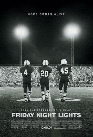 Permian High School - Movie poster depicting the Permian Panthers' 1988 football season.