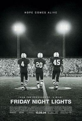 Friday Night Lights (film) - Theatrical release poster